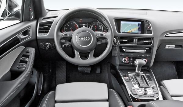 Audi Q5 2.0 TDI, interior