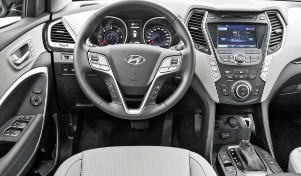 Hyundai Santa Fe 2.2 CRDi, interior