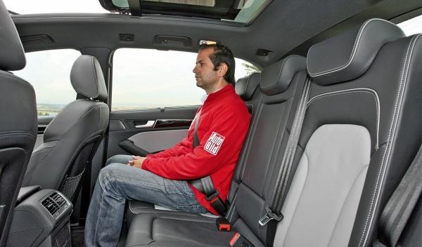 Audi Q5 2.0 TDI, plazas traseras