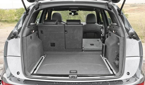 Audi Q5 2.0 TDI, maletero