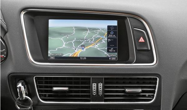 Audi Q5 2.0 TDI, navegador