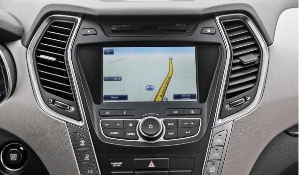 Hyundai Santa Fe 2.2 CRDi, navegador