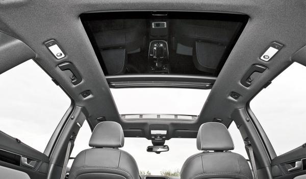 Audi Q5 2.0 TDI, techo