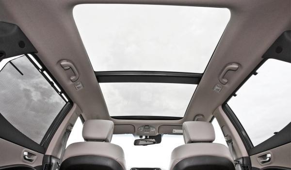 Hyundai Santa Fe 2.2 CRDi, techo