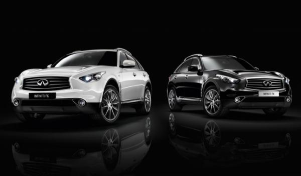 Infiniti FX 'Black&White' Edition