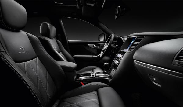 Infiniti FX 'Black&White' Edition, interior
