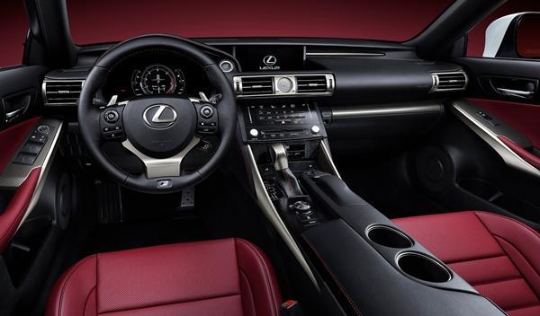 Lexus IS 2013 interior
