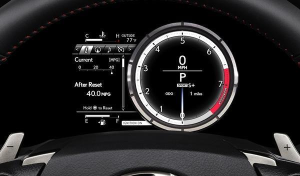 Lexus IS 2013 instrumentación