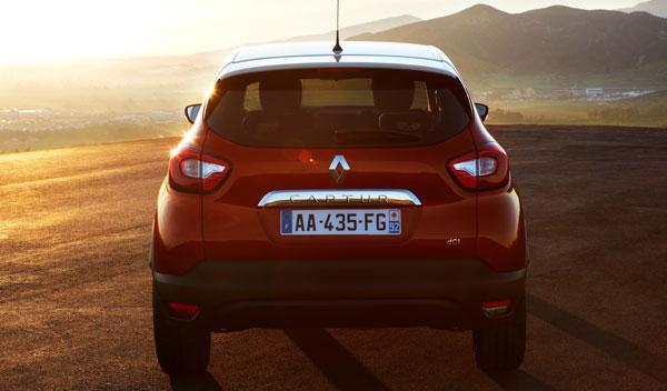 Renault Captur maletero