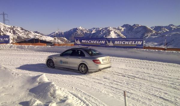 Experiencia 4Matic, Michelin