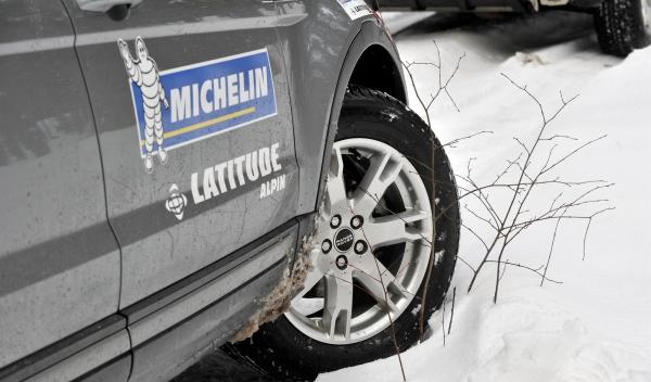 Experiencia 4Matic, Michelin Pilot Alpin