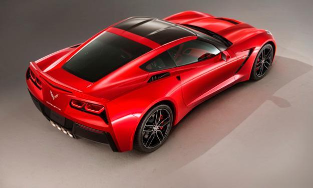 Chevrolet Corvette Stingray 2014 trasera