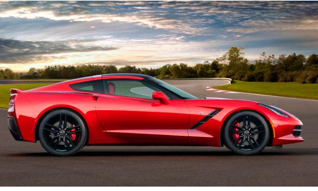 Chevrolet Corvette Stingray 2014 lateral