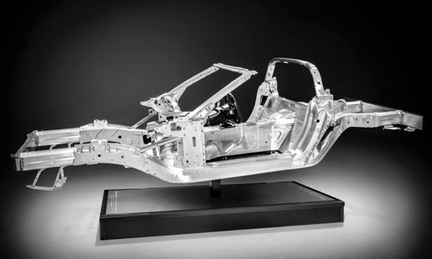 Chevrolet Corvette Stingray 2014 chasis