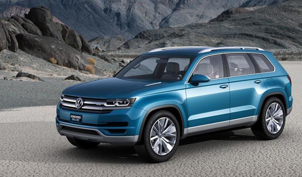 Volkswagen CrossBlue salon detroit 2013