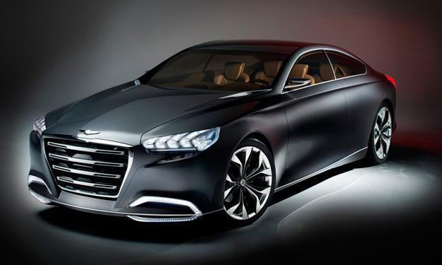 Hyundai HCD-14 Concept Genesis Salón de Detroit