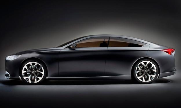 Hyundai HCD-14 Concept Genesis coupé