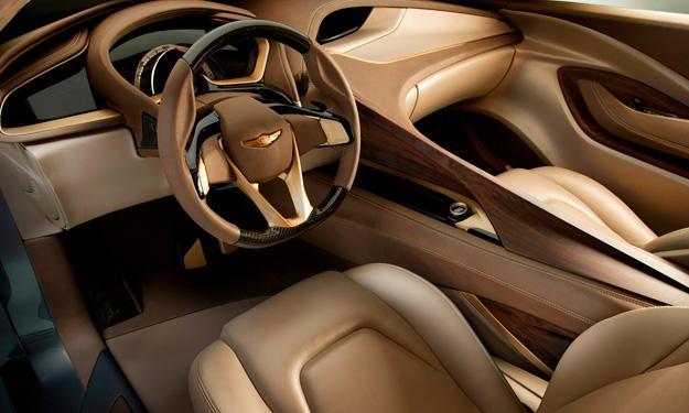 Hyundai HCD-14 Concept Genesis interior
