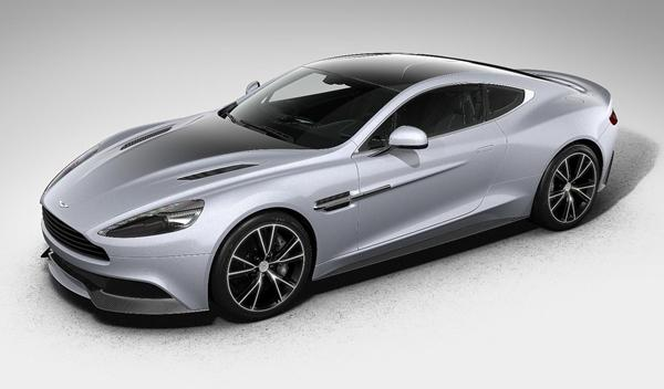 Aston Martin Vanquish Centenary Edition frontal