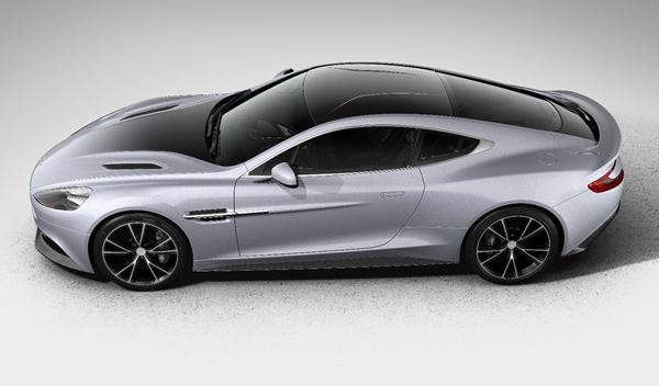 Aston Martin Vanquish Centenary Edition perfil