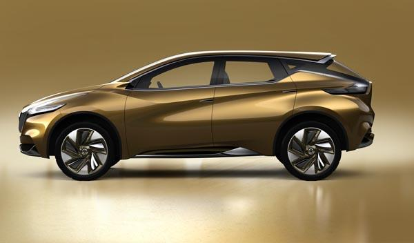 Nissan Resonance Concept lateral