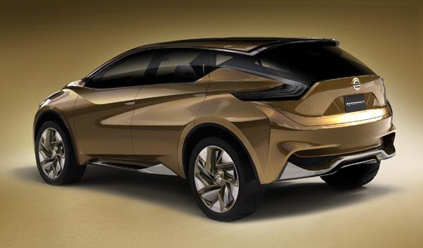 Nissan Resonance Concept trasera
