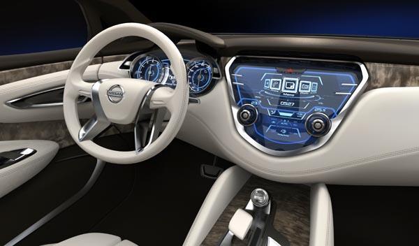 Nissan Resonance Concept interior