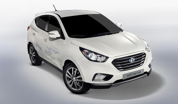Hyundai ix35 Fuel Cell frontal