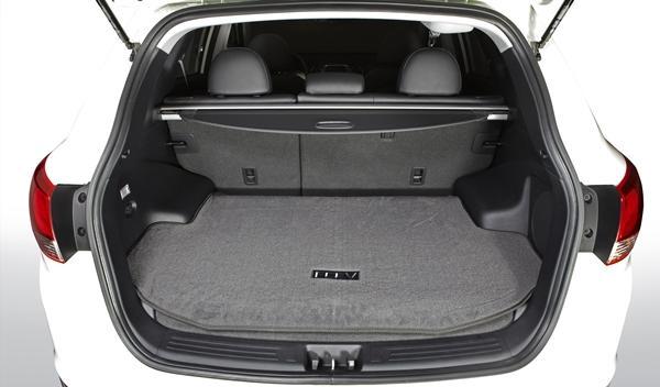 Hyundai ix35 Fuel Cell maletero