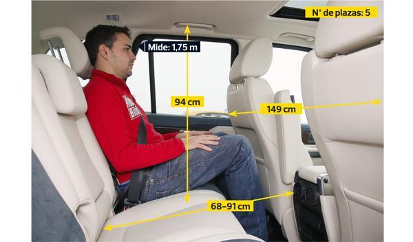 Range Rover Sport 3.0 SDV6 HSE plazas traseras