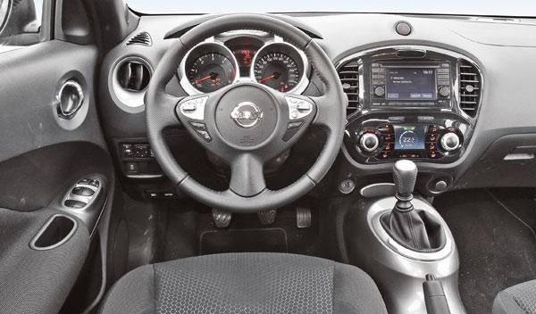 Nissan Juke 1.5 dCi volante