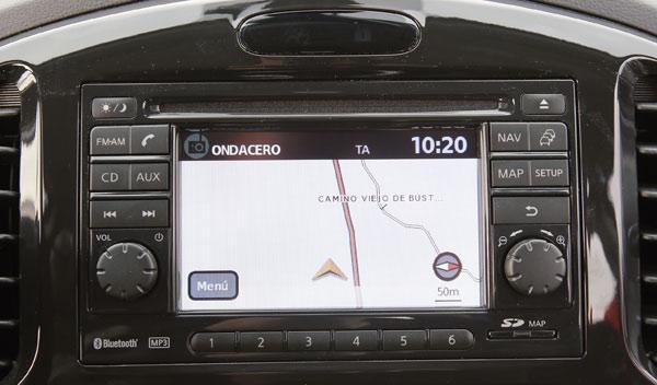 Nissan Juke 1.5 dCi navegador