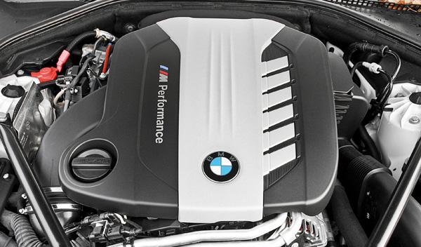 BMW M550d xDrive motor