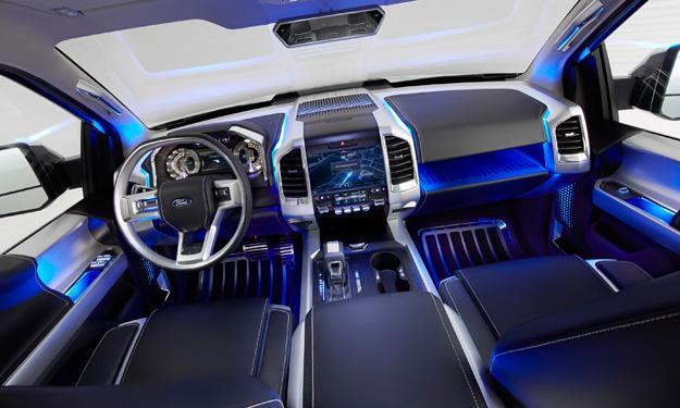 Ford Atlas Concept interior