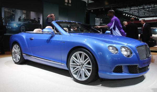 Bentley Continental GT Speed Convertible Salón Detroit