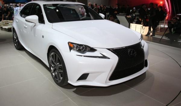 Lexus IS 2013 Salón Detroit 2013