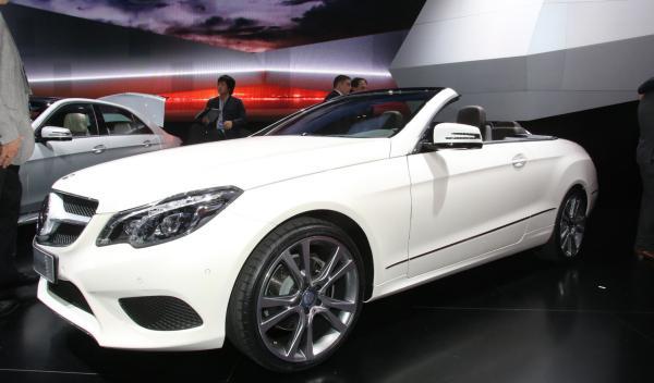 Mercedes Clase E Cabrio Salón Detroit 2013