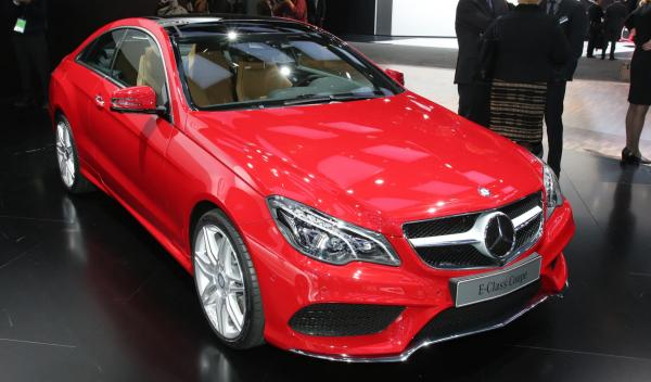 Mercedes Clase E Coupe Salón Detroit 2013