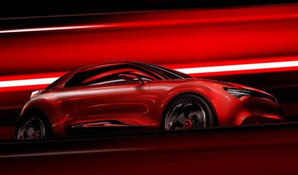 Kia Concept lateral delantero Salón de Ginebra 2013