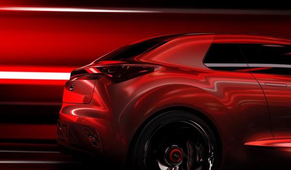 Kia Concept lateral trasero Salón de Ginebra 2013