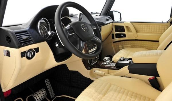 Mercedes G65 AMG Brabus 800 Widestar, salpicadero