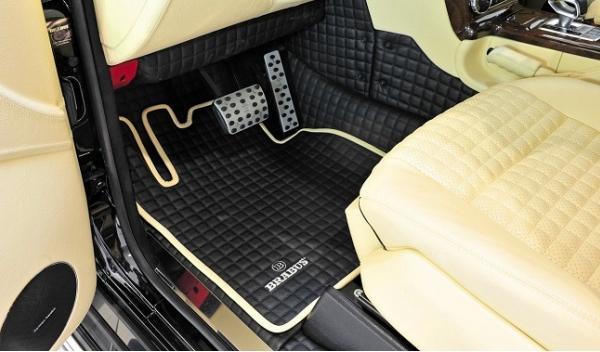 Mercedes G65 AMG Brabus 800 Widestar, moqueta