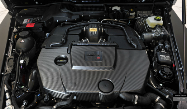 Mercedes G65 AMG Brabus 800 Widestar, motor