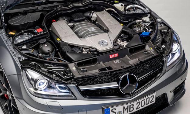 Mercedes C63 AMG 507 Edition motor