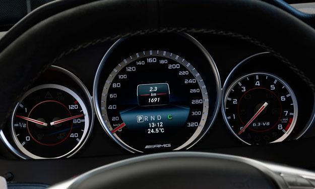 Mercedes C63 AMG 507 Edition velocidad