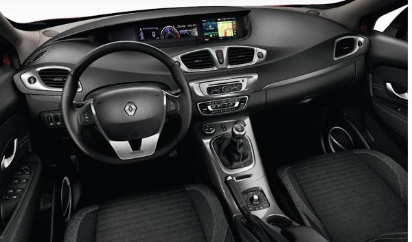 Renault Scénic XMOD interior salpicadero