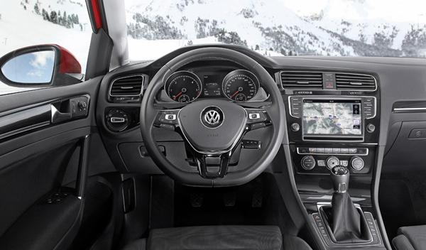 Volkswagen Golf 4MOTION interior