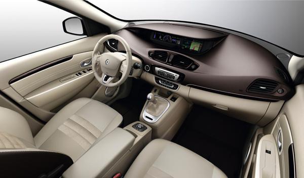 Renault Scénic 2013 interior