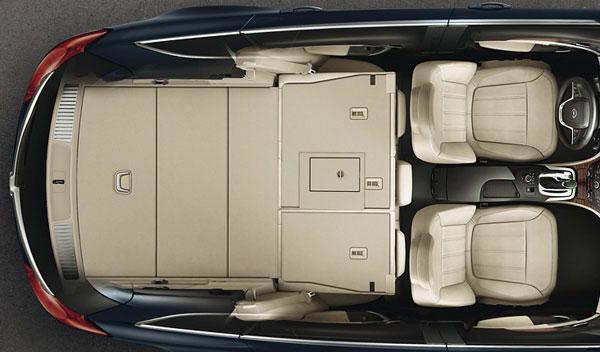 Opel Insignia CrossFour interior maletero