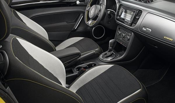 Volkswagen Beetle GSR interior